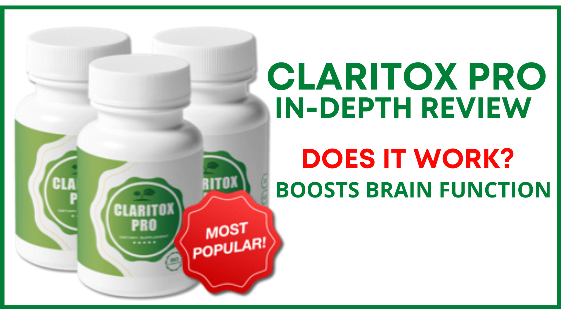 Fitweightlogy - Claritox Pro Reviews