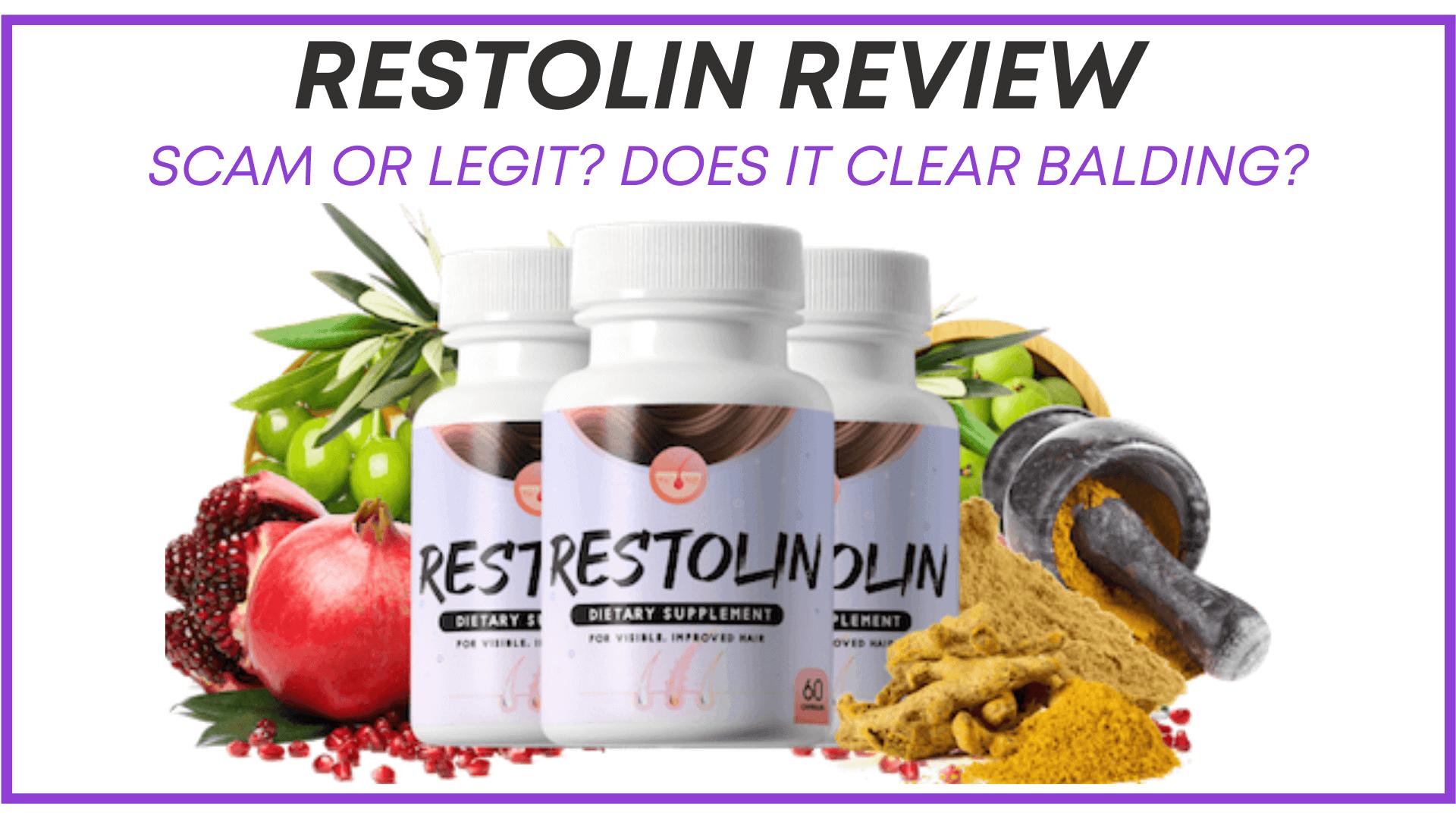 Restolin Reviews - Restolin Dietary Supplement